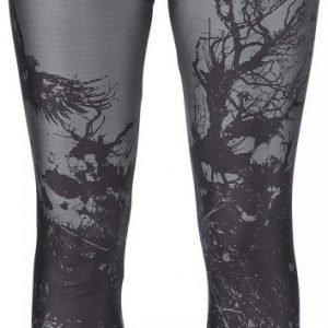 Black Premium By Emp Bough Skull Leggings Legginsit