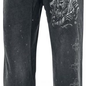 Black Premium By Emp Broken Viking Sweatpants Verryttelyhousut