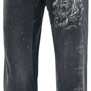 Black Premium By Emp Broken Viking Sweatpants Verryttelyhousut