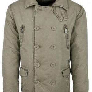 Black Premium By Emp Button Jacket Talvitakki