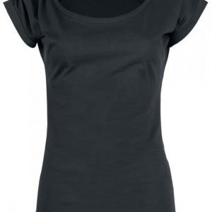 Black Premium By Emp Button Sleeve Naisten T-paita