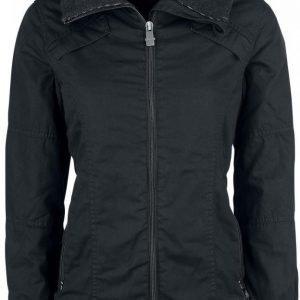 Black Premium By Emp Casual Cotton Jacket Naisten Välikausitakki