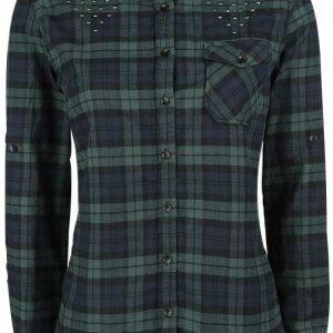Black Premium By Emp Checkshirt Naisten Pusero