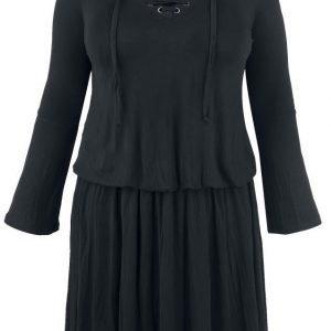 Black Premium By Emp Corded Swing Dress Mekko
