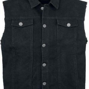 Black Premium By Emp Denim Vest Liivi