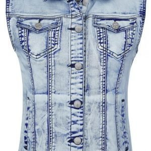 Black Premium By Emp Denim Vest Naisten Liivi