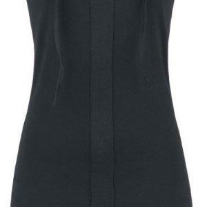 Black Premium By Emp Eyelet Lace Up Dress Mekko