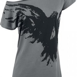Black Premium By Emp Flying Raven Naisten T-paita