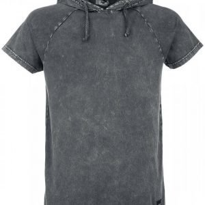 Black Premium By Emp Hooded Vintage Shirt T-paita