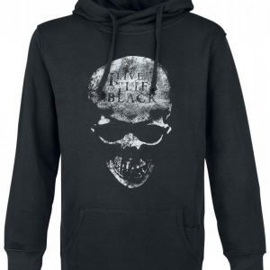 Black Premium By Emp I Live My Life In Black Hoodie Huppari