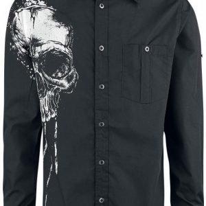 Black Premium By Emp I Live My Life In Black Shirt Kauluspaita
