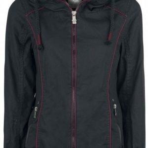 Black Premium By Emp Inner Skull Jacket Naisten Välikausitakki