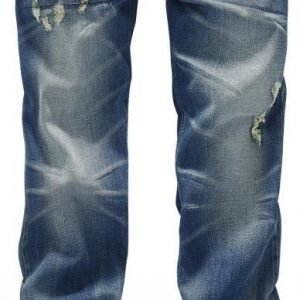 Black Premium By Emp Johnny Destroyed Boot Cut Miesten Farkut