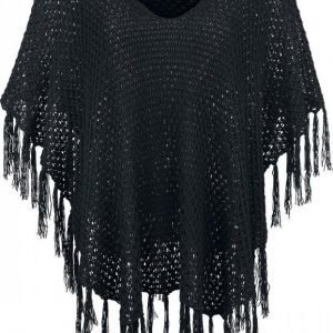 Black Premium By Emp Knitted Poncho