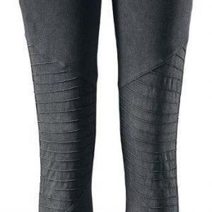 Black Premium By Emp Ladies Biker Knee Leggings Legginsit
