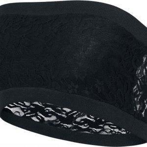Black Premium By Emp Ladies Long Laces Bandeau Toppi