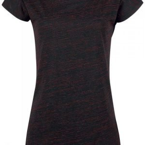 Black Premium By Emp Ladies Roundneck Shirt Naisten T-paita