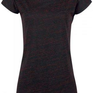 Black Premium By Emp Ladies Roundneck Shirt Naisten T-paita