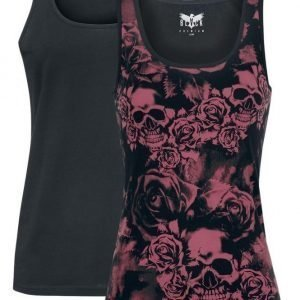 Black Premium By Emp Ladies Top 2 Kpl Setti Naisten Toppi