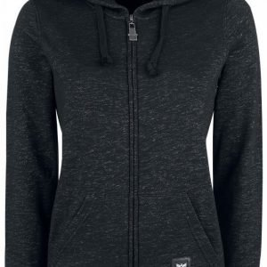 Black Premium By Emp Melange Hoodie Jacket Naisten Vetoketjuhuppari