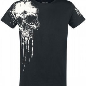 Black Premium By Emp Melting Skull T-paita