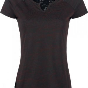 Black Premium By Emp Notch Neckline Shirt Naisten T-paita