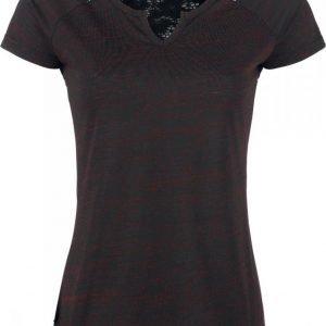 Black Premium By Emp Notch Neckline Shirt Naisten T-paita