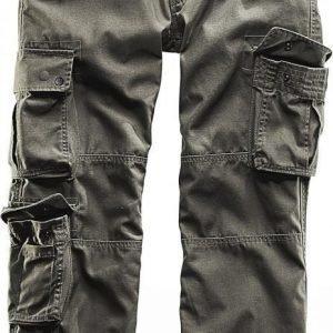 Black Premium By Emp Pure Vintage Trousers Loose Fit Reisitaskuhousut