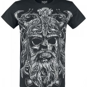 Black Premium By Emp Raging Skull T-paita