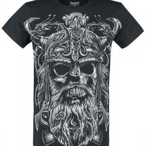 Black Premium By Emp Raging Skull T-paita