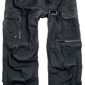 Black Premium By Emp Royal Vintage Trousers Loose Fit Reisitaskuhousut
