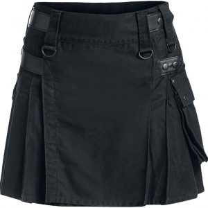 Black Premium By Emp Short Kilt Kiltti