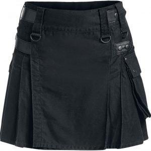 Black Premium By Emp Short Kilt Kiltti