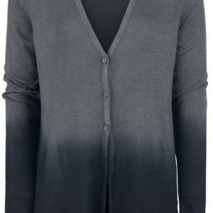 Black Premium By Emp Side Slits Cardigan Naisten Neuletakki
