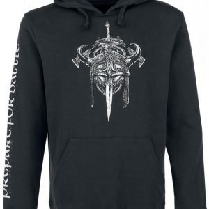 Black Premium By Emp Skull Viking Hoddie Huppari