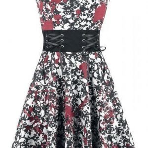 Black Premium By Emp Skulls Halter Dress Mekko