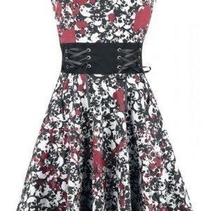 Black Premium By Emp Skulls Halter Dress Mekko