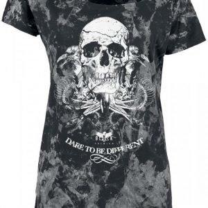 Black Premium By Emp Snake Skull Shirt Naisten T-paita