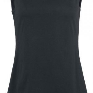 Black Premium By Emp Splash Skull Top Naisten Toppi