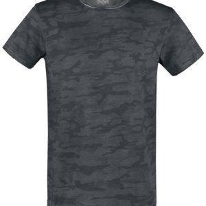 Black Premium By Emp Sprayed Camo Roundneck T-paita