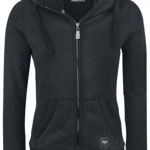 Black Premium By Emp Teddy Hooded Jacket Naisten Vetoketjuhuppari