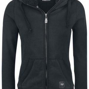 Black Premium By Emp Teddy Hooded Jacket Naisten Vetoketjuhuppari