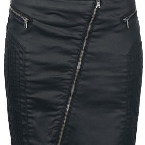 Black Premium By Emp Waxed Skirt Minihame