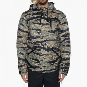 Black Scale Jungle Jacket