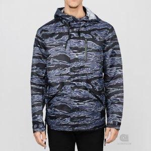 Black Scale Jungle Jacket
