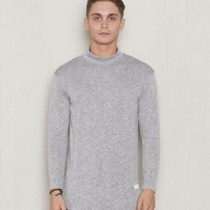 Blench Melange Polo Light Grey