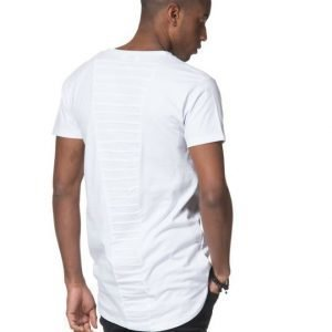 Blench Pintucks Tee White