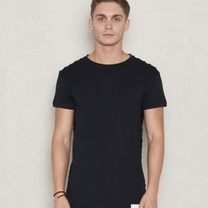 Blench Ribbed Tee black