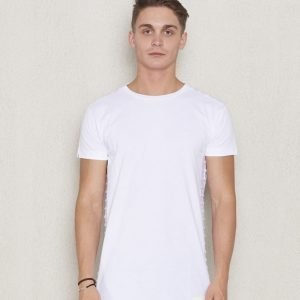 Blench Ribbed Tee white