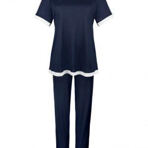 Bleyle Pyjama Laivastonsininen / Valkoinen